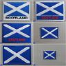 Bandera de Escocia con Plancha / Coser Tela Insignia Parche Saint San Andrés