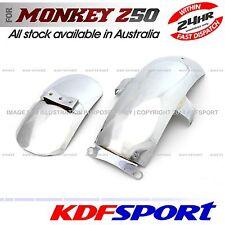 KDF FRONT REAR FENDER STEEL CHROMED COVER FOR HONDA MONKEY Z50 Z50A K0 K1 K2