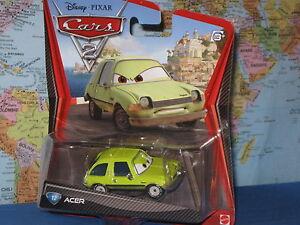 DISNEY PIXAR CARS 2 ACER #12 ***BRAND NEW & VHTF***