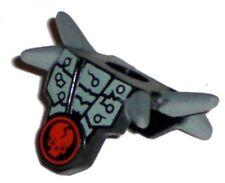 LEGO NINJAGO - Minifig, Armor Breastplate Gray Spikes / Cracked Skull - (Chopov)
