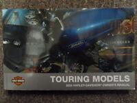 2009 Harley Davidson Touring Owners Operators Owner Manual OEM Factory