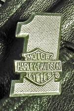 Harley-Davidson Motorcycle #1 Bar & Shield Harley Pewter Biker Jacket pin 1001b