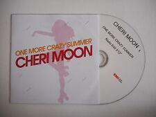 CHERI MOON : ONE MORE CRAZY SUMMER ( RADIO EDIT ) [ CD SINGLE ] ~ PORT GRATUIT !