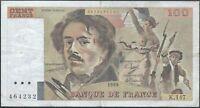 100 FRANCS DELACROIX (1989) K.147 - Billet de banque français (TTB-)