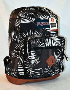 New JanSport City View Laptop Backpack -- Tonal Palms