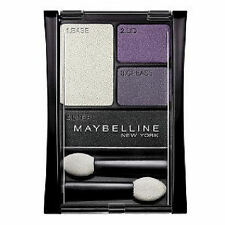 Maybelline Stylish  Smokes Shadow Quad - 06Q Amethyst Smokes + Free Post