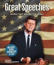 Great Speeches,Edward Humphreys,Very Good Book mon0000102166