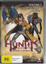 HUNTIK VOLUME 3 - THE TREASURES OF THE ARGONAUTS - NEW & SEALED REGION 4 DVD