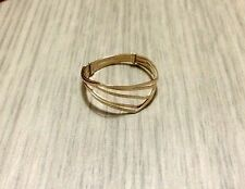 10K Gold-Filled Simply Elegant Gold Ring for Women sz 8 #SALE