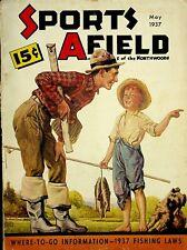 Vintage Sports Afield May 1937 Hunting Fishing Camping Sporting