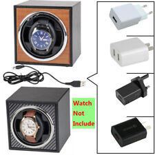 Box Leather Self-Winding Display Case Automatic Electric Mechanical Watch Winder