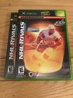 NHL RIVALS 2004 - XBOX - COMPLETE WITH MANUAL - FREE S/H - (Y)