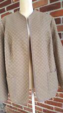 Coldwater Creek 18 tan jacket lined excellent