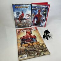 "Marvel Spider-Man Bundle April 16 Comic Book #33 x2 DVD's & 3"" Venom Figure"