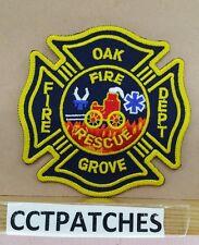 OAK GROVE, UNKNOWN FIRE DEPARTMENT PATCH