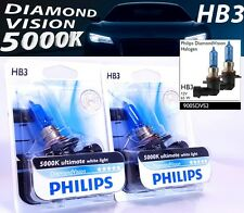 HB3 Philips Diamond Vision 5000K Halogen headlights 9005DVB1 HB3 12V 65W P20d