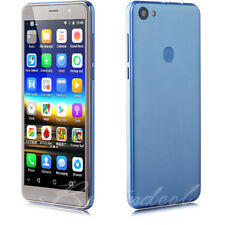 """Unlocked Cheap Blue 5.5"""" Android 3G GSM Cell Phone Dual SIM Quad Core Smartphone"""
