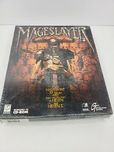 MageSlayer Big Box PC Game Still Sealed Shrink Wrap 1997 GT Interactive CD-ROM