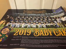 NEW ORLEANS BABY CAKES ZEPHYRS 2019 FINAL SEASON TEAM POSTER 24X18 SGA