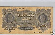 POLOGNE 10 000 MAREK 11.3.1922 N° B 2797071 PICK 32