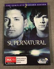 SUPERNATURAL Season 2 - 6 x Disc DVD Set Region 4