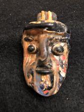Ancient Phoenician Mosaic Glass Pendant Bead
