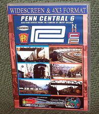 """cp107 TRAIN VIDEO DVD """"PENN CENTRAL VOL. 6"""" VINTAGE FILM"""