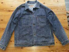 Levi's del dril de algodón chaqueta de hombre grandes 70511 04 Camionero/tarea Chaqueta en muy buena condición