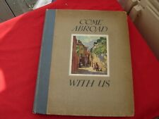 More details for sr publication  come abroad with us 1928 15 coloured plates book a4 size