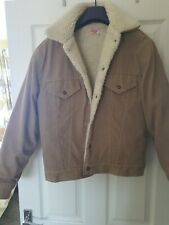 Para Hombre de colección chaqueta de Levis corudoy sherpa trucker