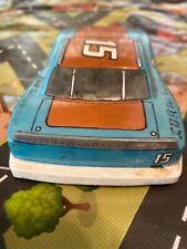 VINTAGE 1/24 SLOT CAR #15 GOLD & POWDER BLUE LOT #12
