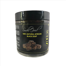 SmellGood-Africa Black Soap Paste, natual and handmade - 8oz