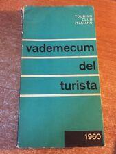 Vademecum del Turista Touring Club Italiano 1960