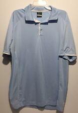 Nike Golf Dri-Fit Men's XL Golf Shirt Light Blue Embroidered Logo EXcellent