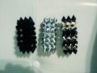 Women Plastic Spike Bracelet $2 each. Please let me know what color.