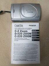 Olympus Camedia C220 Zoom Digital Camera