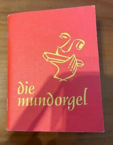 Die Mundorgel. Neubearbeitung 2001. Mundorgelverlag GmbH Köln