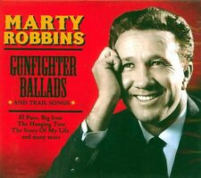 MARTY ROBBINS - GUNFIGHTER BALLADS & TRAIL SONGS (NEW SEALED CD)