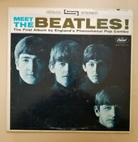 Meet The Beatles - 1964 Capitol ST-2047