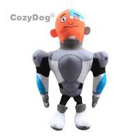 Teen Titans Go Cyborg Plush Figure Soft Stuffed Doll Toy 10'' Kids Birthday Gift