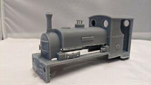 10mm / 1:32 / 1 Gauge Hunslet M class Body