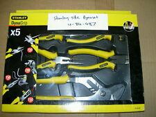 Stanley Tools - Dynagrip Pliers Set 5 Piece - 4-84-487