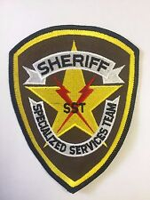 Sheriff's Office SST Specialized Services Team Cloth Patch