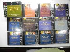 Lot of 19  Bach: Hanssler Classic CDs BWV