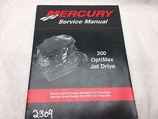 Mercury Service Manual 200 OptiMax Jet Drive