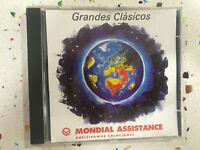 GRANDES CLASICOS CD MONDIAL ASSISTANCE HANDEL MOZART GREIG PACHABEL BACH DVORAK