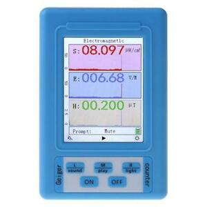 Electromagnetic Radiation Detector EMF Meter Radiation Dosimeter Monitor Tester