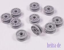LEGO Technik - 10 x Umlenkrolle Führungsrolle 18 x 8 mm hellgrau / 13971 NEUWARE