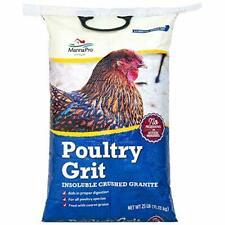 Manna Pro Poultry Grit Insoluble Crushed Granite 25 Pounds