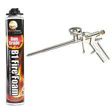 Expanding Foam Filler High Yield Gun Grade Fire Rated B1 Polyurethane PU + GUN